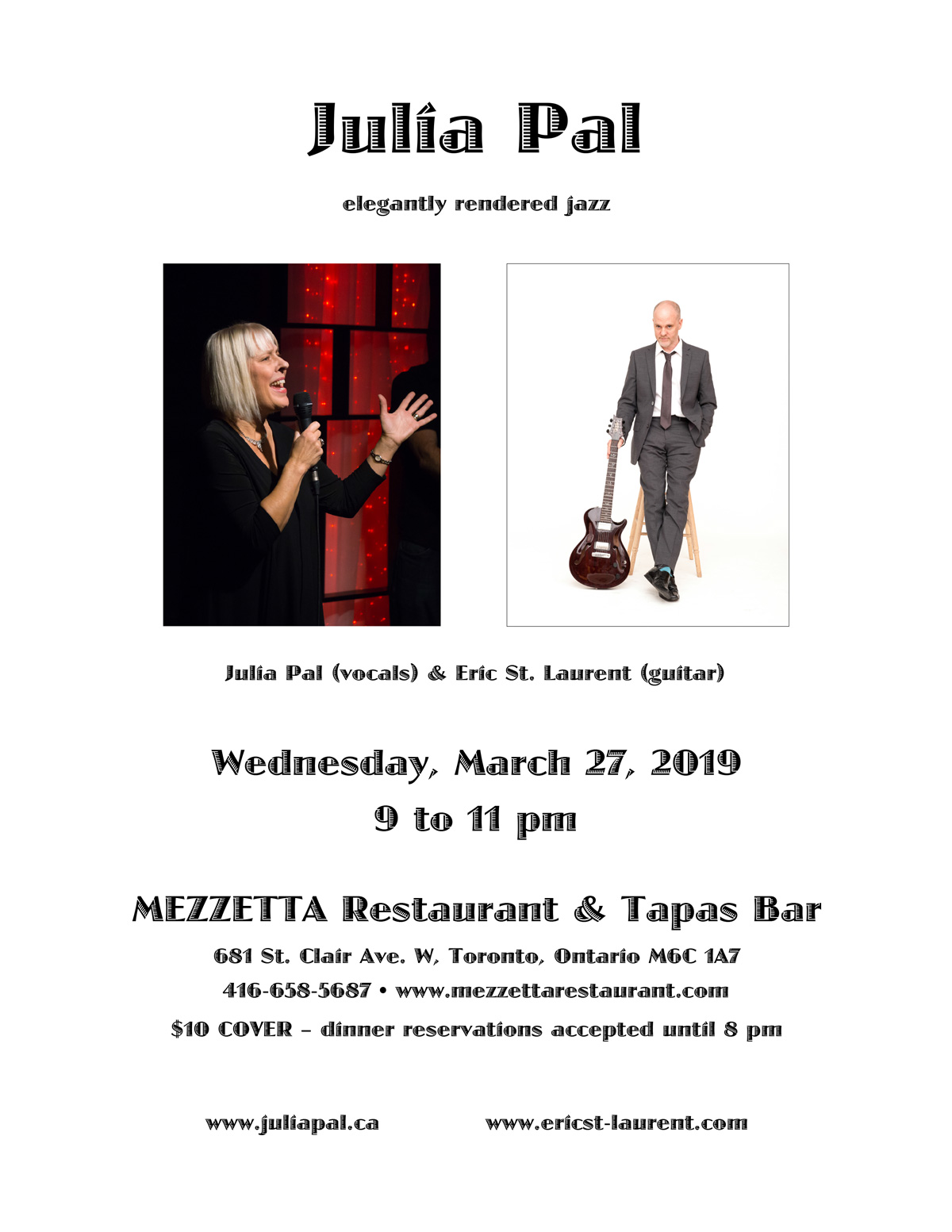 March 27, 2019 - Julia Pal at Mezzetta